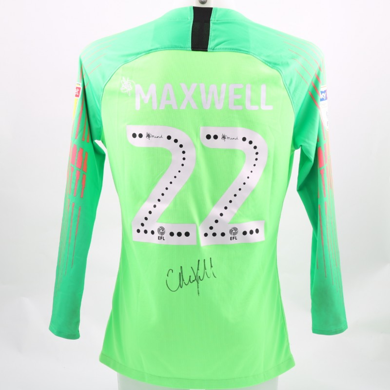 Maxwell's Preston Worn and Signed Poppy Shirt