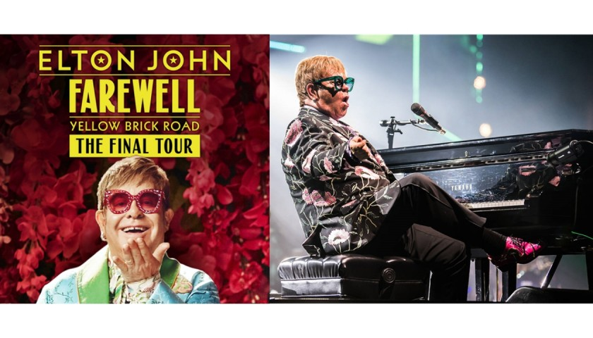 Sir Elton John's Final Tour, 'Live' in Concert in Manchester for Two