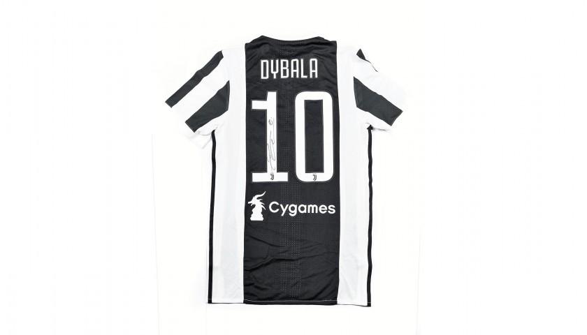 Dybala's Match-Issued/Worn 2017/18 Juventus Shirt – Signed