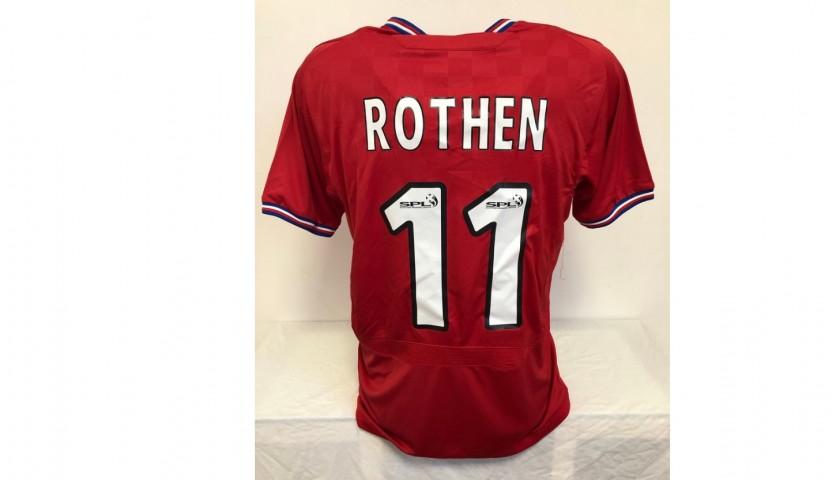 Rothen's Glasgow Rangers Match Shirt, 2009/10