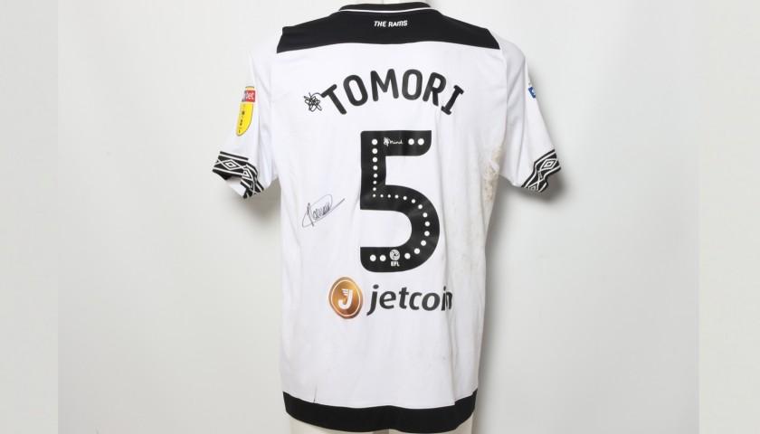 c378e7f2408 Tomori s Worn and Signed Derby County Poppy Shirt - CharityStars