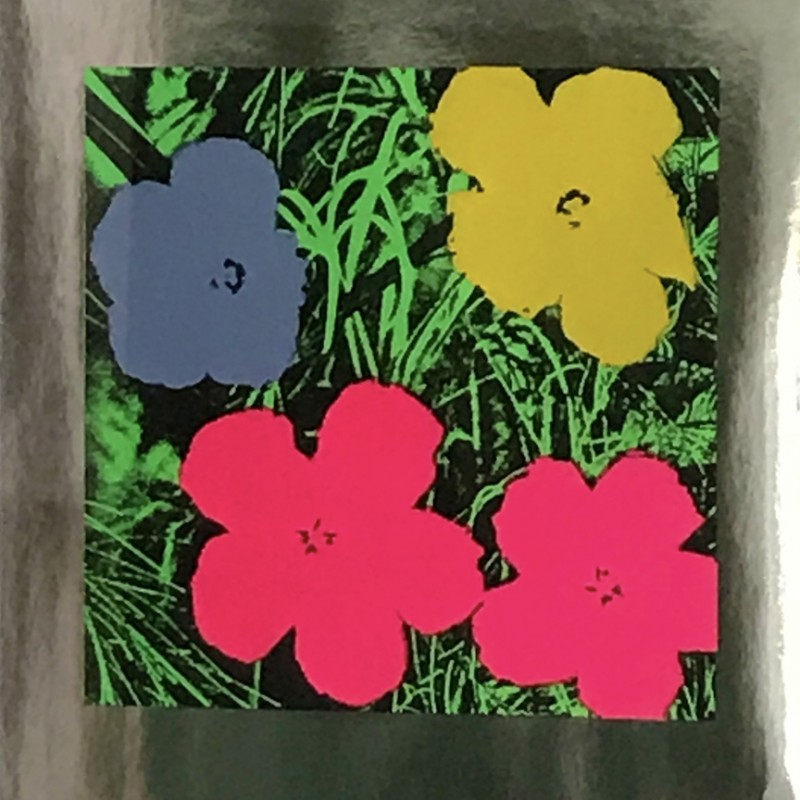"""Flowers"" by Andy Warhol"