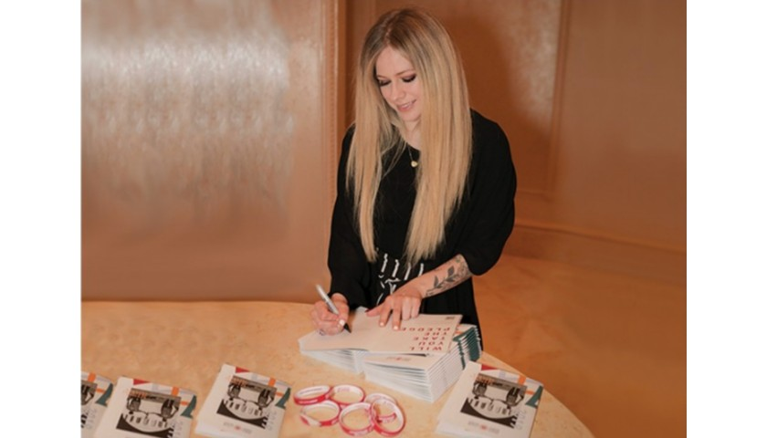 Avril's Signed Special Olympics Pack