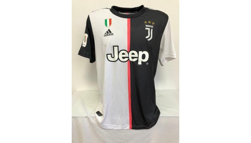 Rugani's Match Shirt, Juventus-Roma 2020
