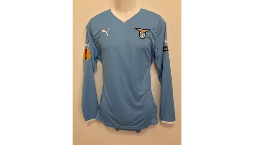 Matuzalem's Lazio Match-Issue Shirt, Europa League 2011/12