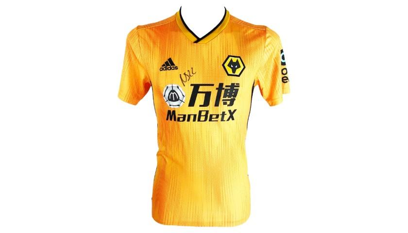 Nelson Semedo Wolves Shirt - Signed
