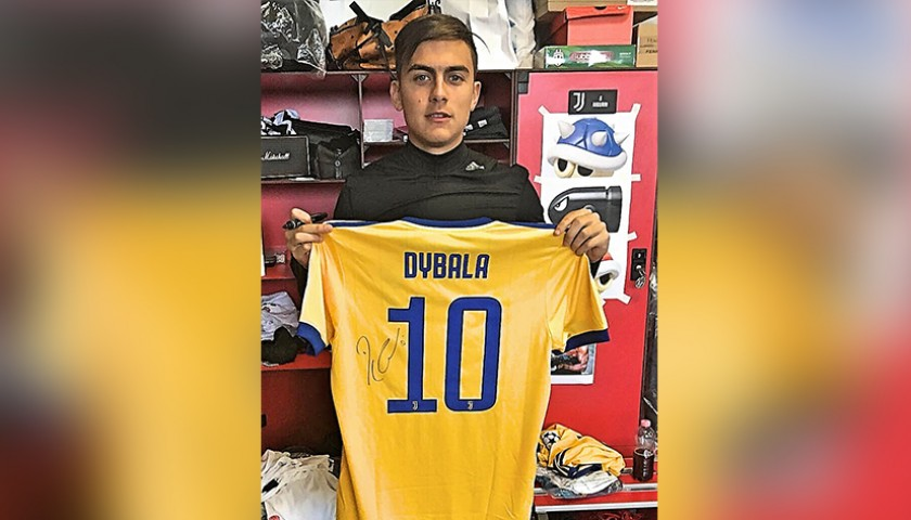 0e6a0bcf2b5 Signed Official Dybala Juventus Shirt