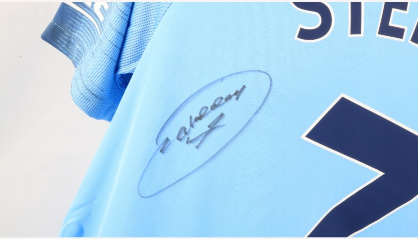Sterling's Official Manchester City Signed Shirt
