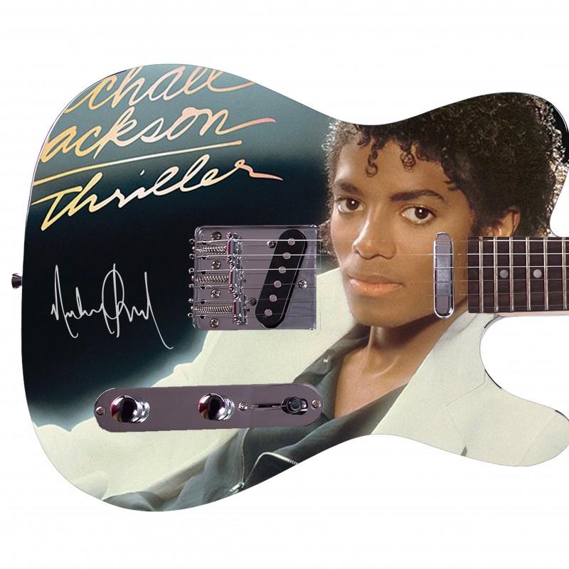 "Michael Jackson ""Thriller"" Custom Graphics Guitar"