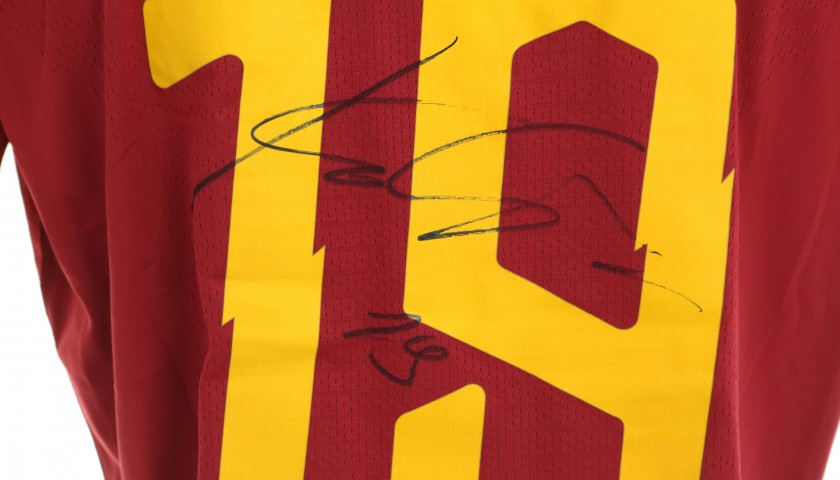 Kalinic's Worn and Signed Shirt, Roma-SPAL 2019