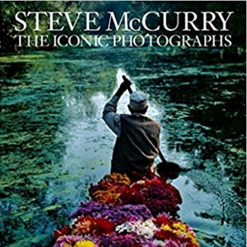 "Libro ""The Iconic Photographs"" di Steve McCurry"