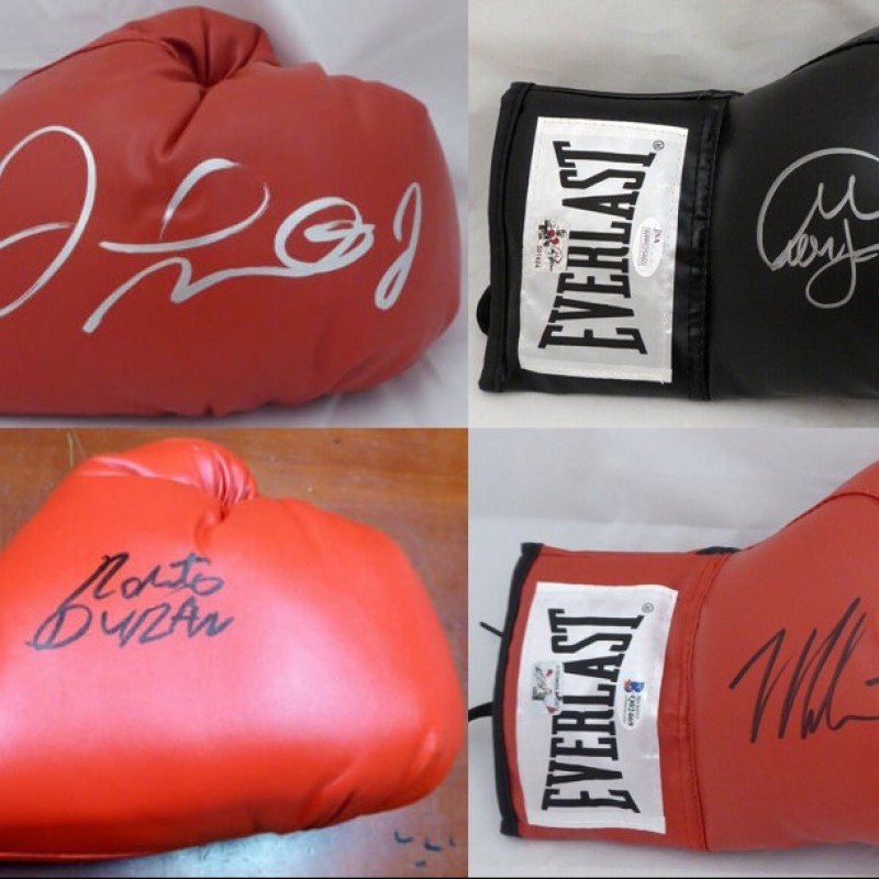 Boxing Legends Mystery Box: Hand Signed Boxing Glove