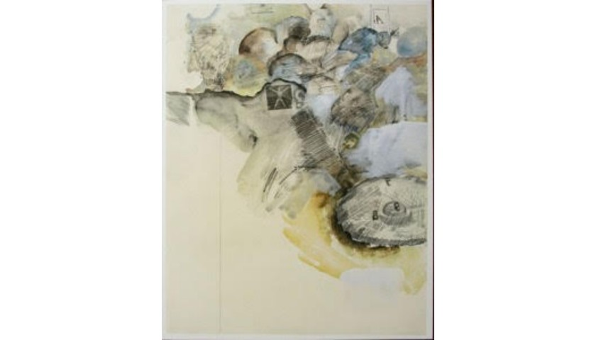 """""""Lost"""" by Robert Rauschenberg"""