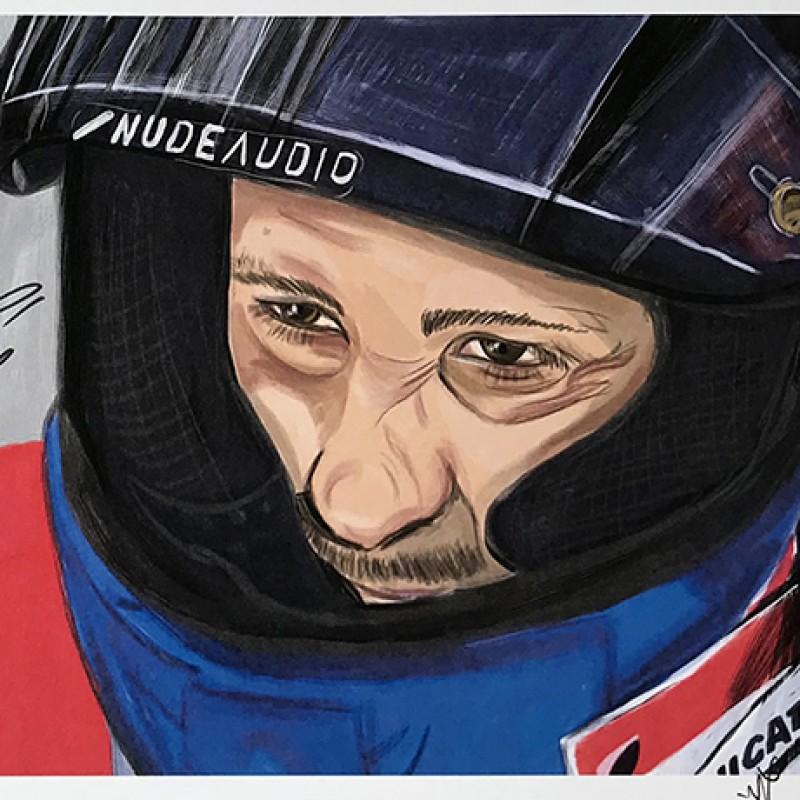 """""""Andrea Dovizioso: Race 5, Mugello"""" by Tammy Gorali"""
