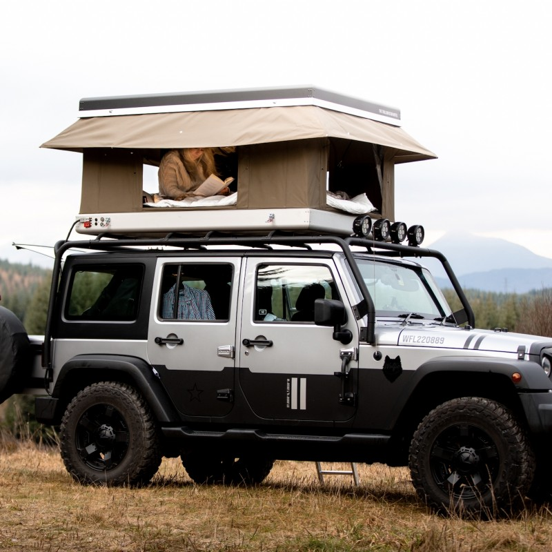 Luxury Jeep Adventure Across Scotland for 5 Days