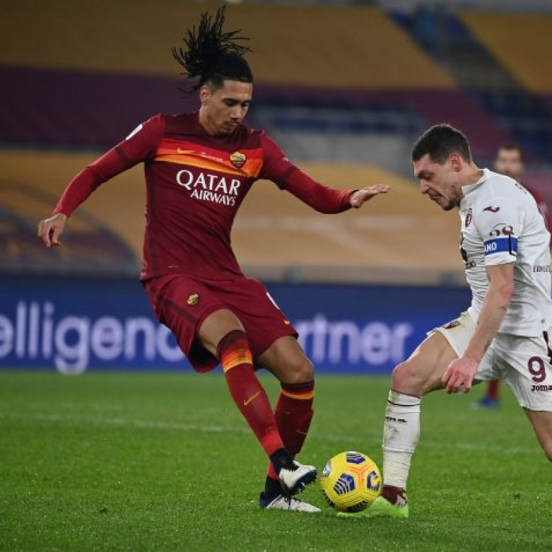 Smalling's Worn Shirt, Roma-Torino - WFP Special