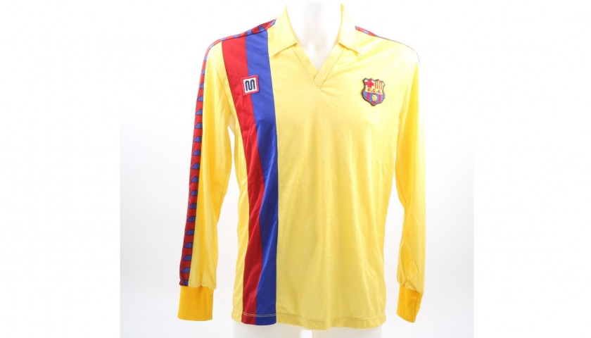 Maradona's Signed Match-Issued Barcelona Shirt, 1983/84