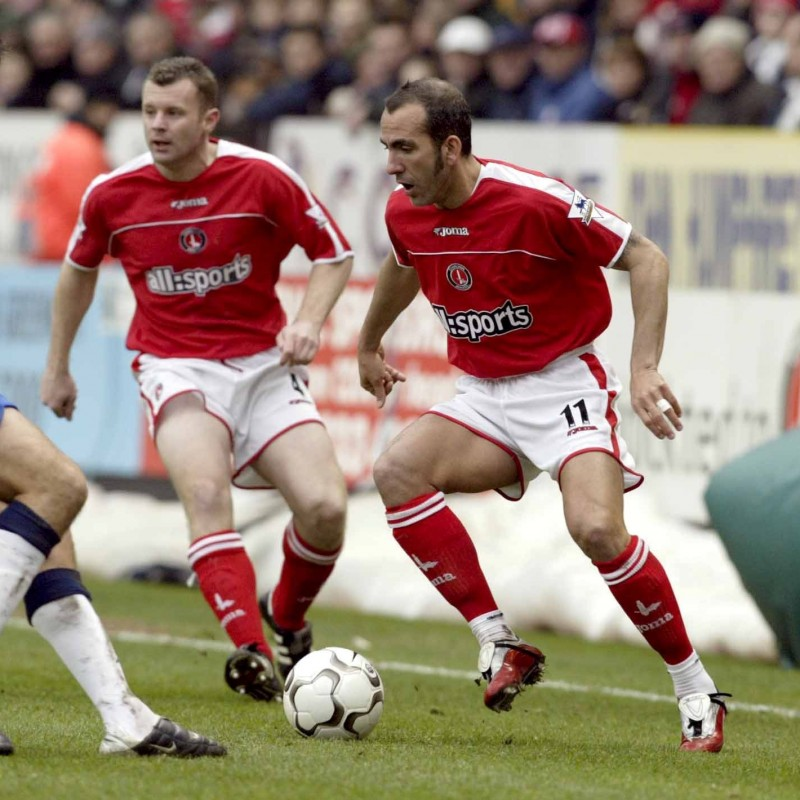 Di Canio's Charlton Athletic Worn Shirt, EPL 2003/04