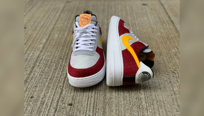 AS Roma Nike Air Force Sneakers