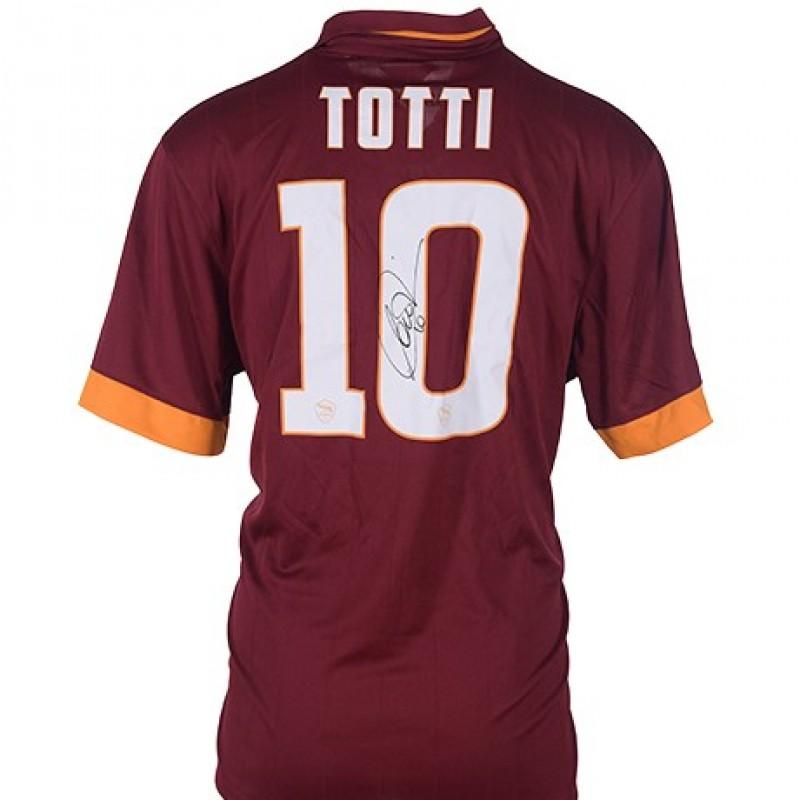Francesco Totti's Signed Shirt, 2014/2015