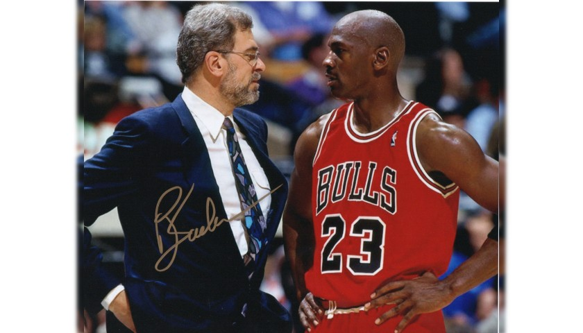 Phil Jackson Signed Photograph