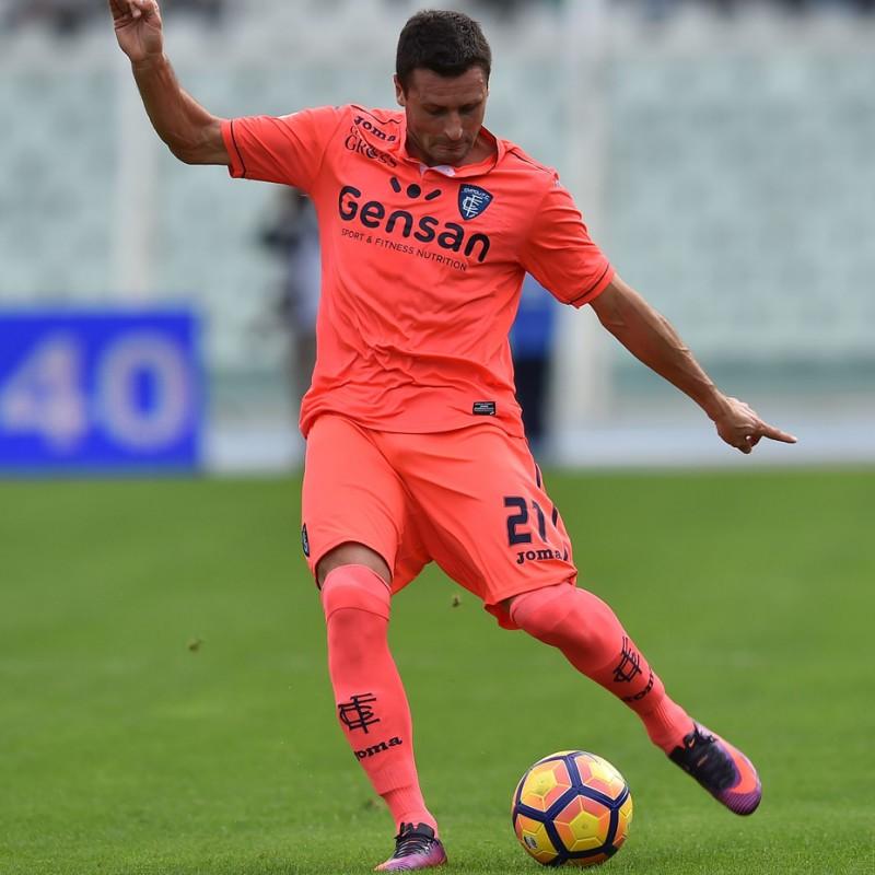 Pasqual's Worn Shirt, Lazio-Empoli 2016