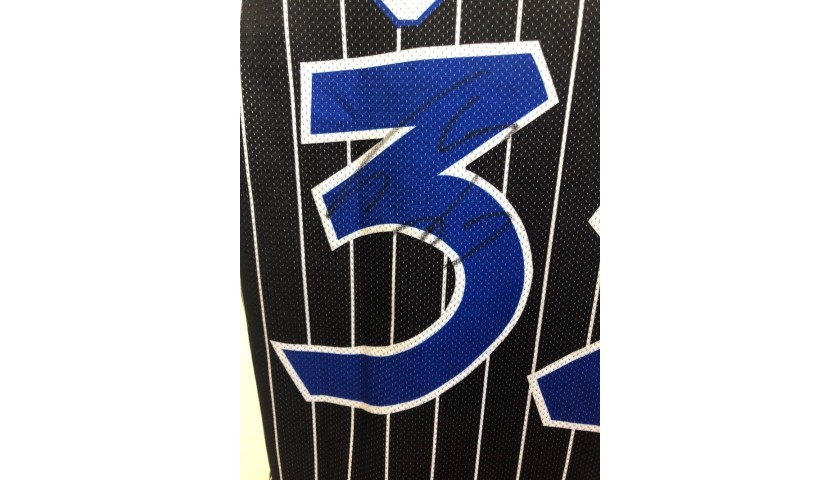 Shaquille O'Neal's Official 1996 Orlando Magic Signed Jersey
