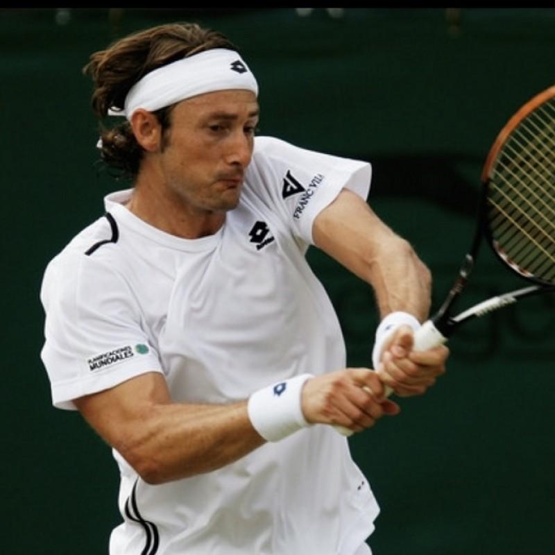 Juan Carlos Ferrero's Match Shirt, Wimbledon 2009