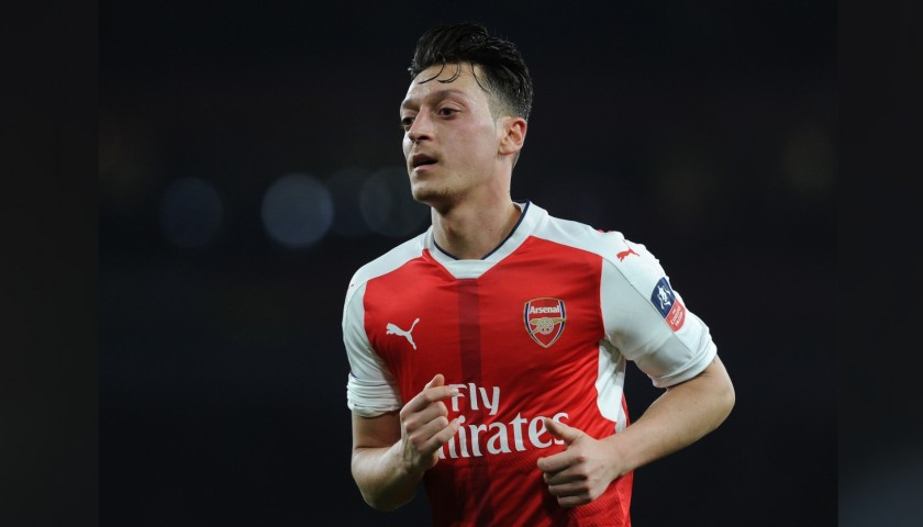 Ozil's Arsenal Match Shirt, FA Cup 2017/18