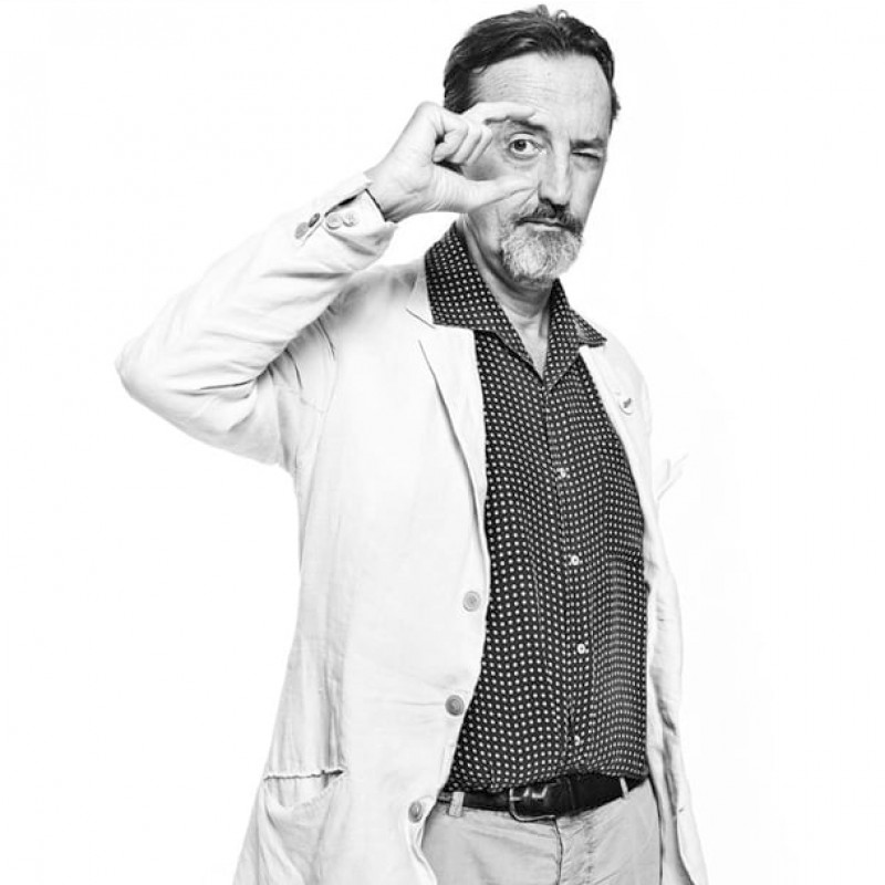 Portrait by Photographer Giovanni Gastel