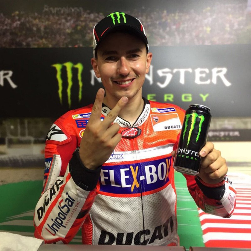 Monster Cap Signed by Jorge Lorenzo