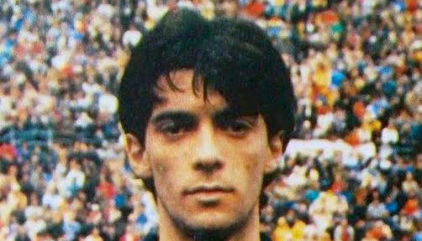 Gianluca Luppi Match Worn Shirt, Serie B 1986/87