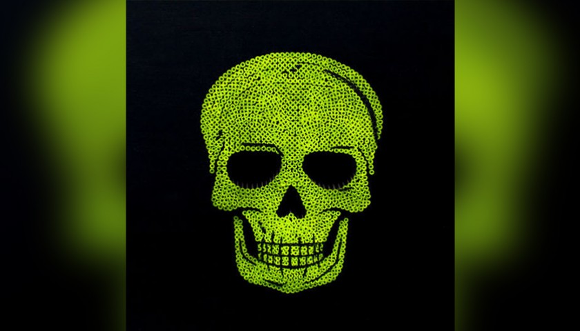 """""""Skull Yellow Fluo"""" by Alessandro Padovan"""