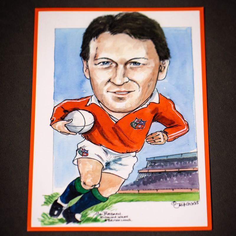 Allan Bateman Caricature