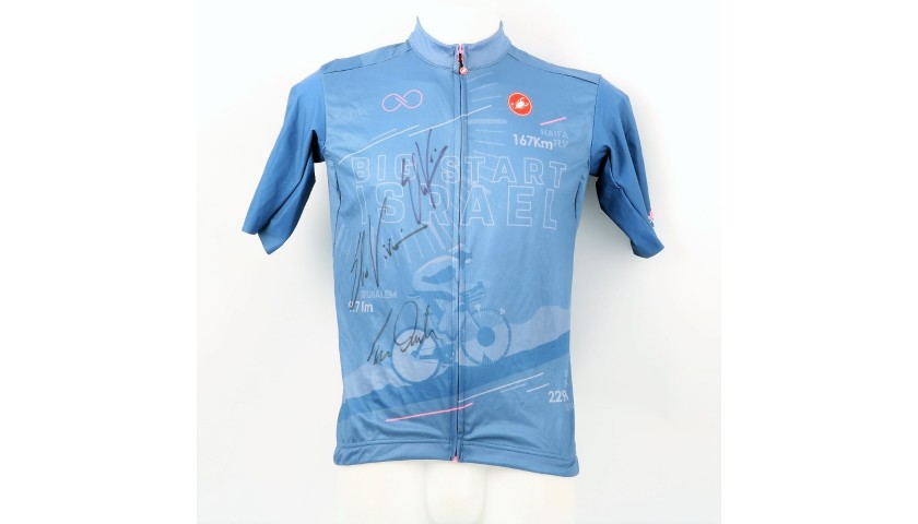 Big Start Israel Jersey 2018 - Signed by Viviani and Dumoulin