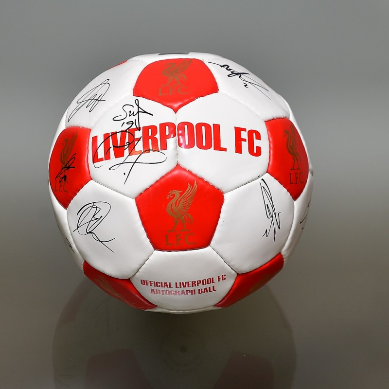 Liverpool FC 1st team signed football