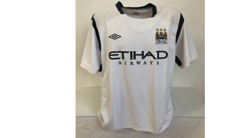 Aguero's Manchester City Signed Training Shirt, 2009/10