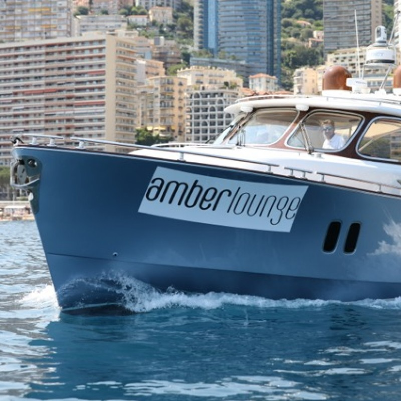 VIP Experience at the 2018 Monaco GP - Amber Lounge Celebrity Yacht