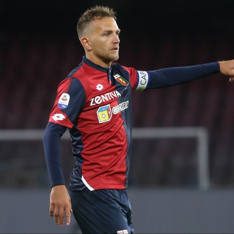 Criscito's Official Genoa Signed Shirt, 2018/19