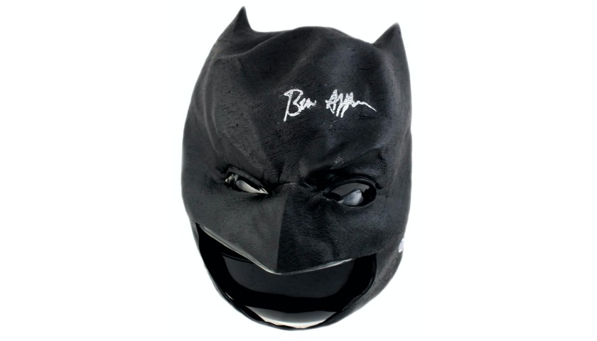 Ben Affleck Signed Batman Mask