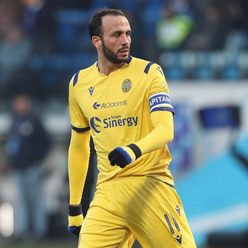 Pazzini's Verona Match Shirt, 2019/20