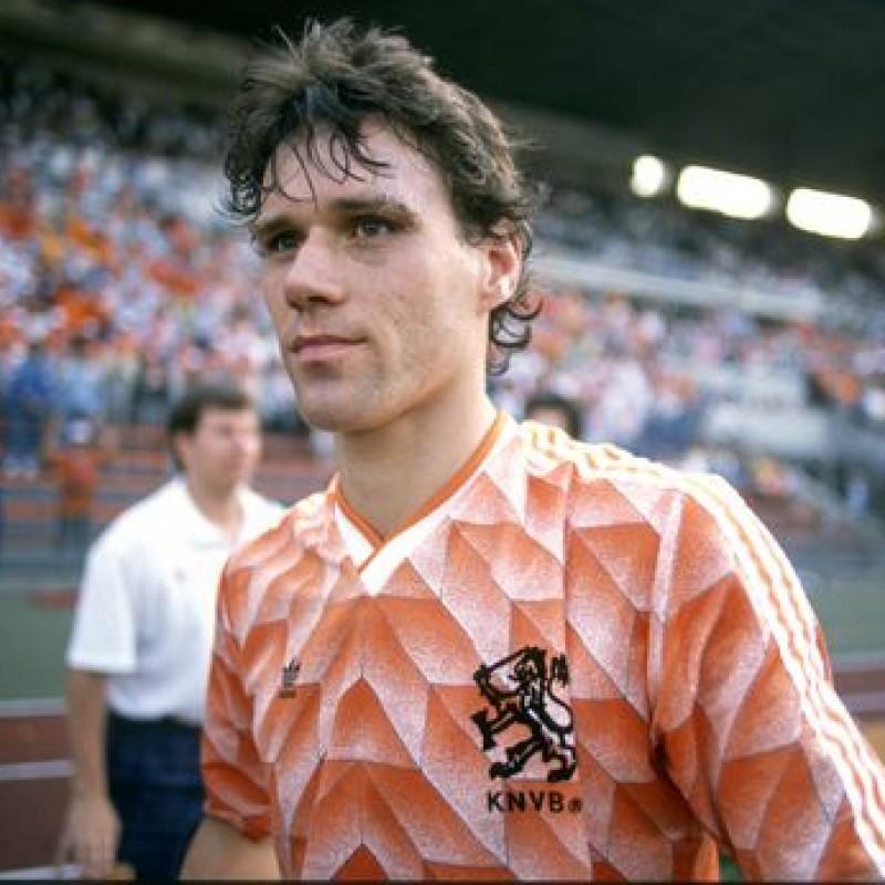 Holland Retro Shirt - Signed by Van Basten