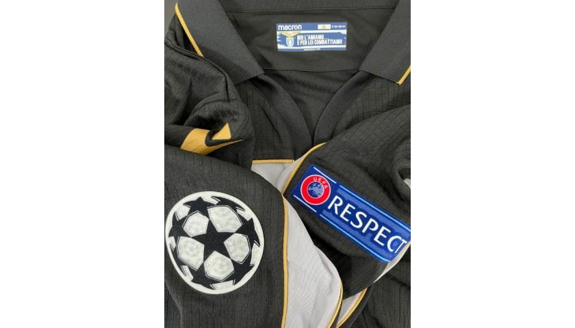 Reina's Lazio Match Shirt, UCL 2020/21 - Limited Edition Box