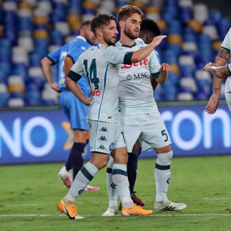 Mertens' Napoli Signed Match Shirt, 2020/21