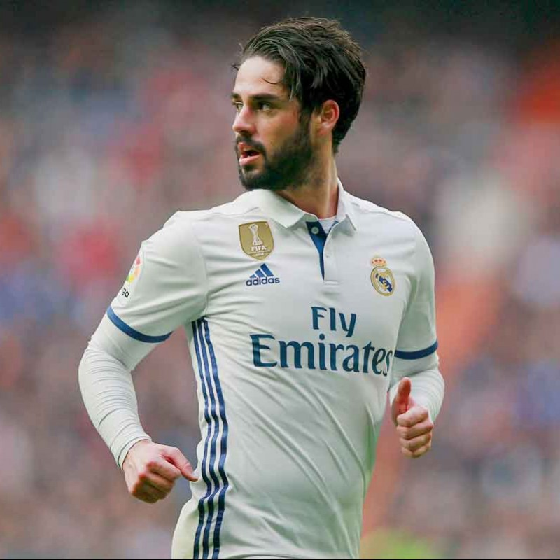 Isco's Real Madrid Match-Issue / Worn Shirt, Liga 2016/17