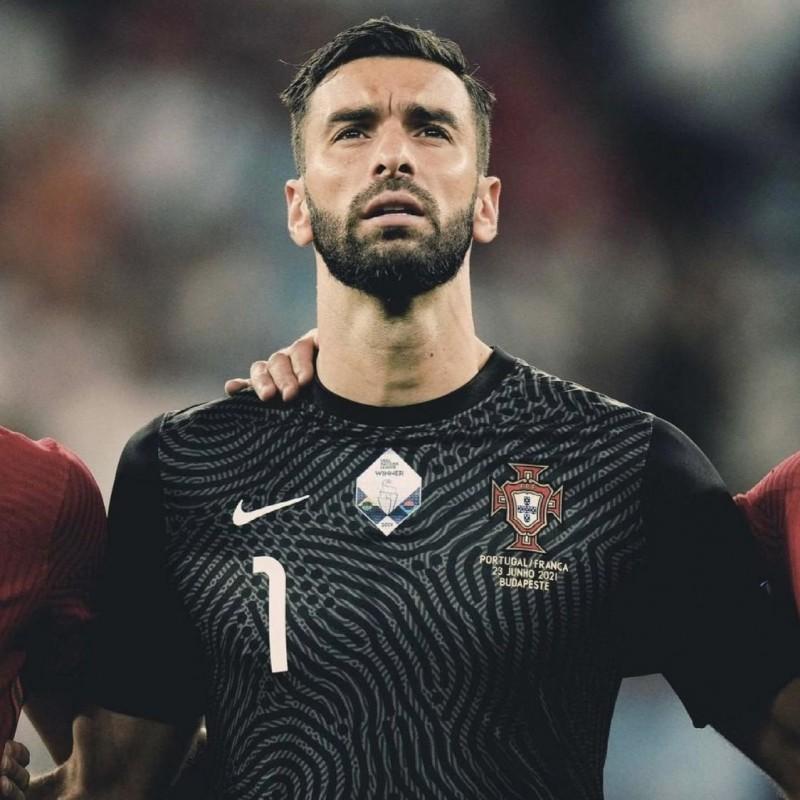 Rui Patricio's Match Shirt, Portugal-France 2021