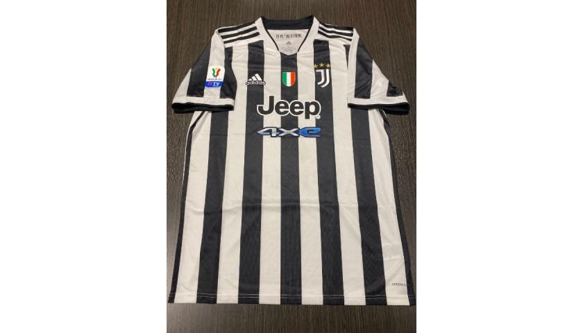 Ronaldo's Official Juventus Signed Shirt, TIM Cup Final 2021