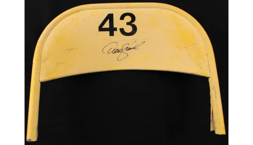 Denny Hamlin Signed Original Daytona International Speedway Seat Back