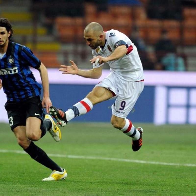 Di Vaio's Official Bologna Signed Shirt, 2011/12