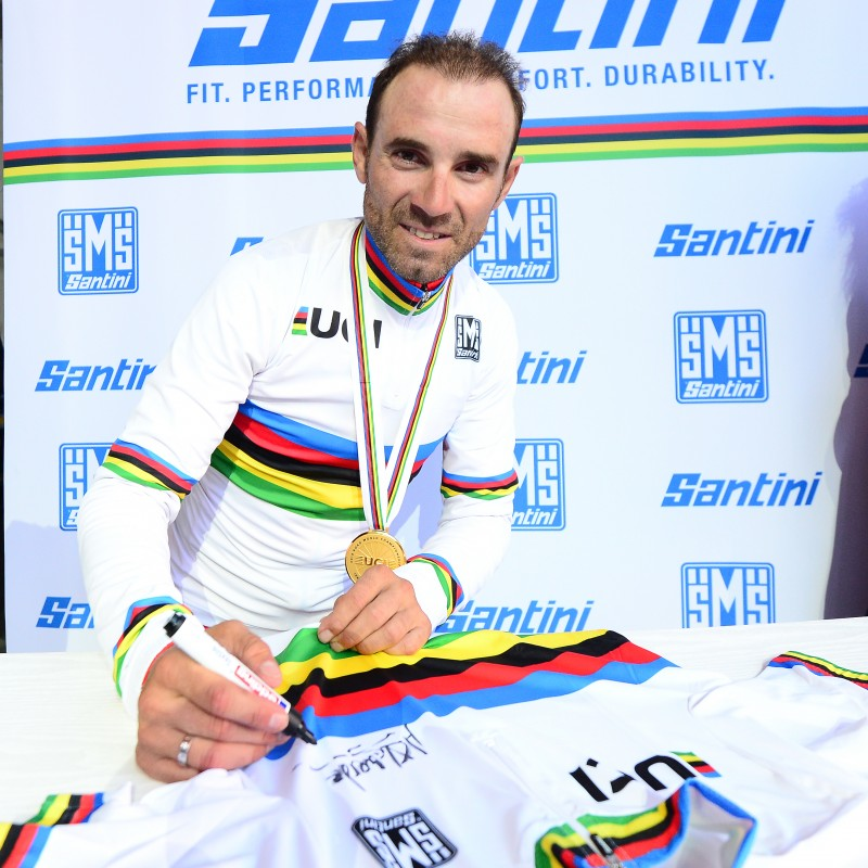 Valverde's UCI World Champion Signed Cycling Jersey